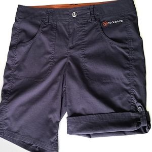 Cloudveil grey convertible hiking shorts